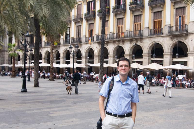 Королевская площадь, одна из первых фоток :-)