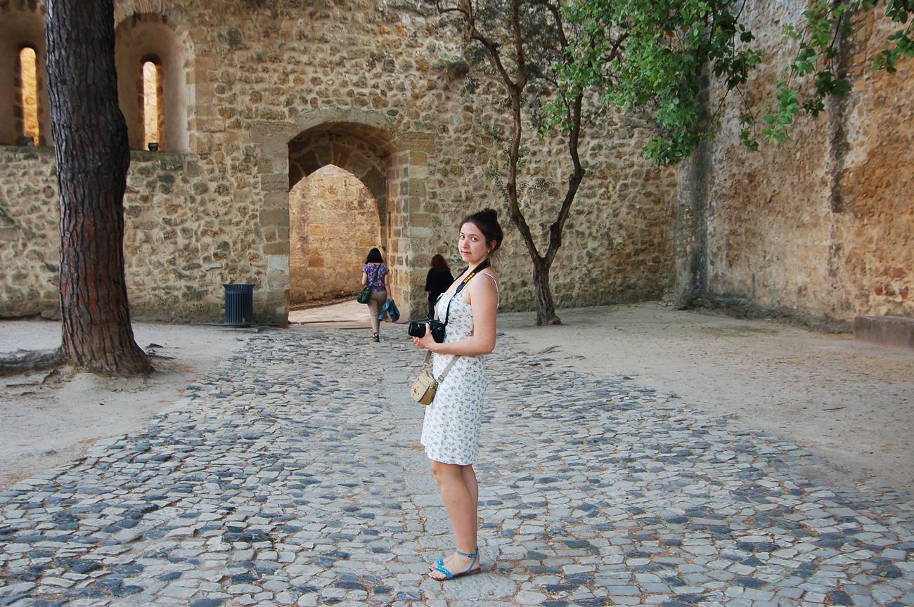 внутри замка Святого Георгия