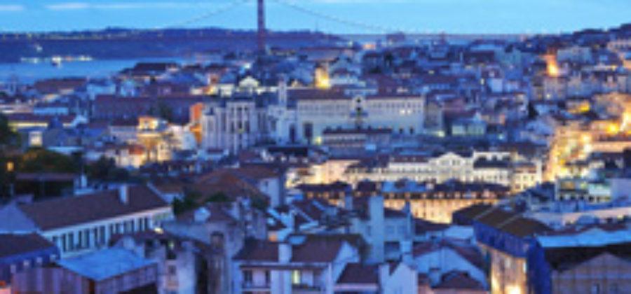 Вечерний Лиссабон