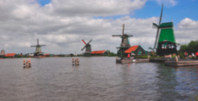 Заансе Сханс : туристическая деревня Голландии