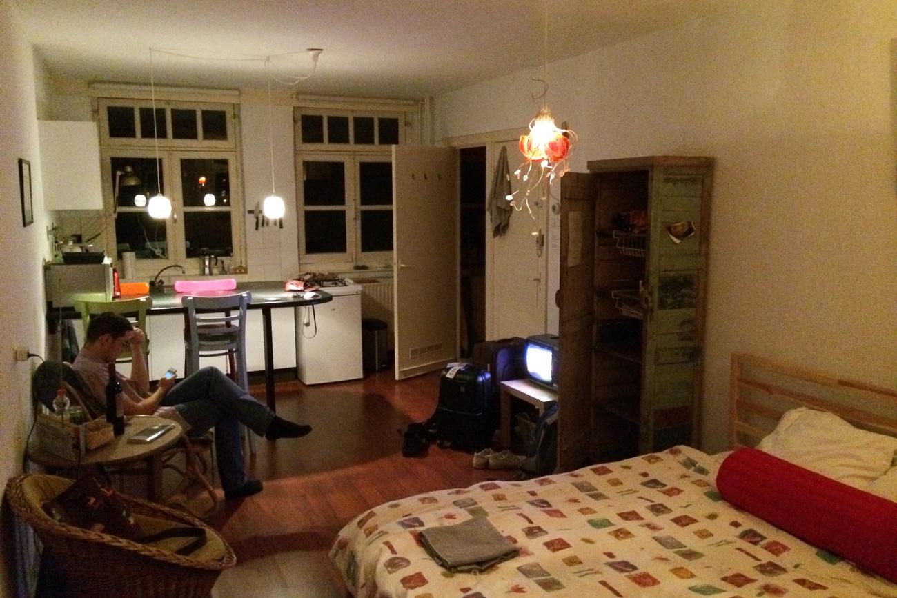наши апартаменты в Амстердаме