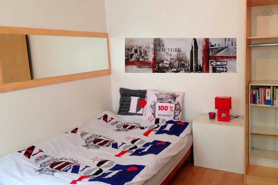 наши скромные апартаменты в Париже