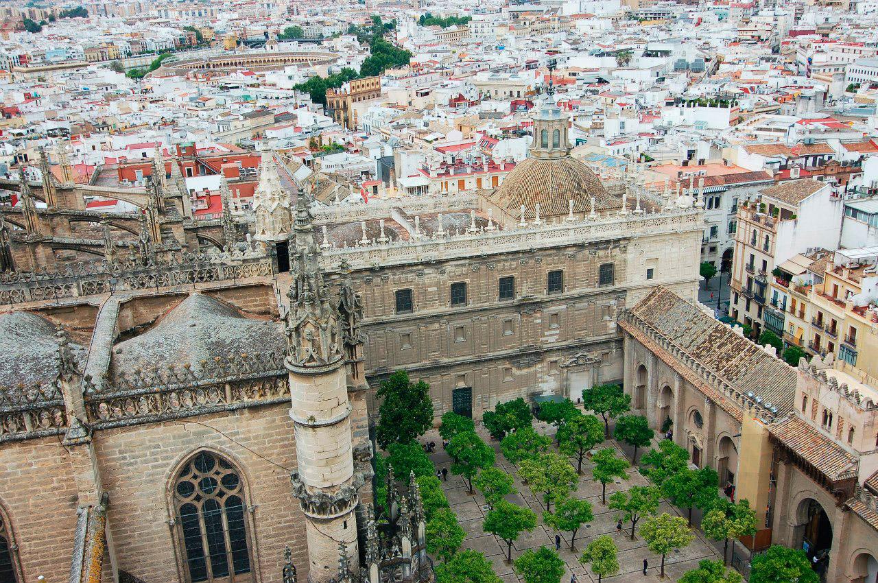 Смотровая площадка на колокольне собора