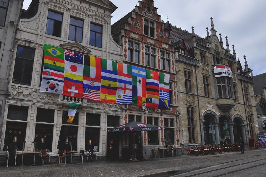 Спортивный бар в Генте