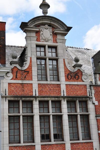 Дом 1766 года постройки в Генте