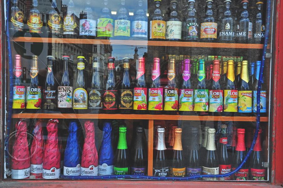 Пивной магазин в Генте