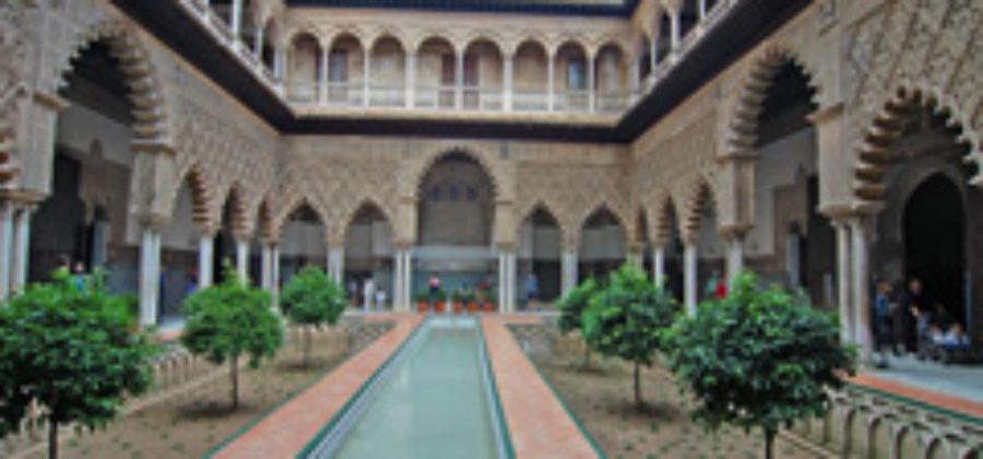Прогулка по Севильскому Алькасару