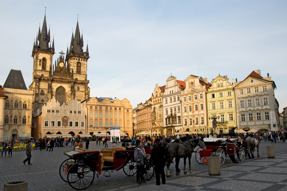 Староместская площадь. г. Прага