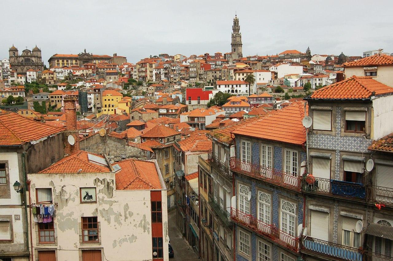 район Рибейра в Порту