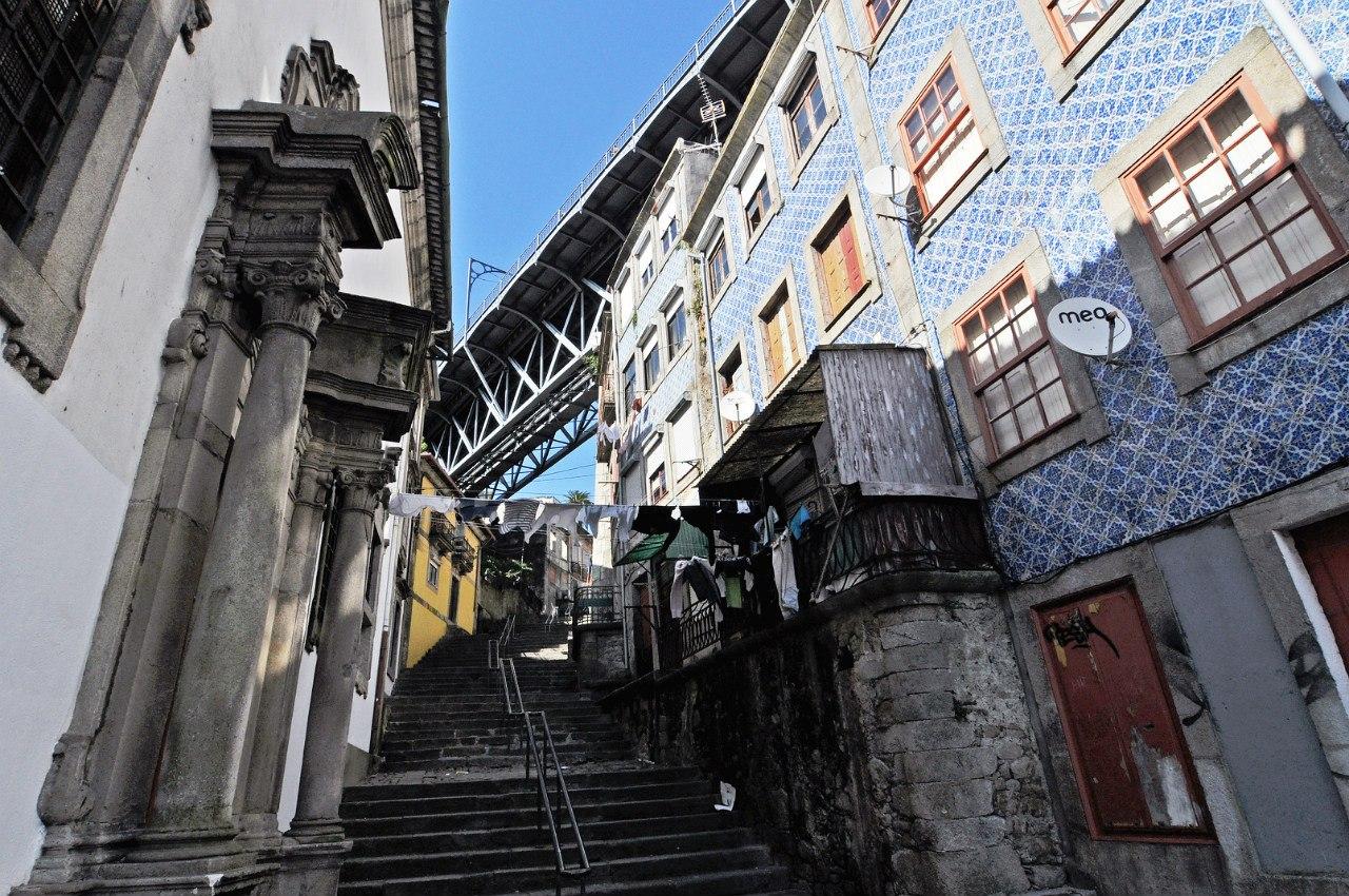 старый город Порту