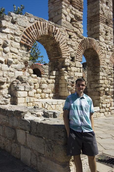 развалины старого Несебра