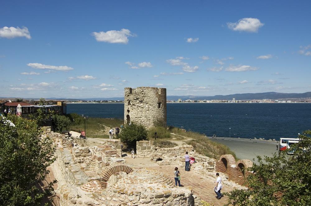 дозорная башня в старом Несебре