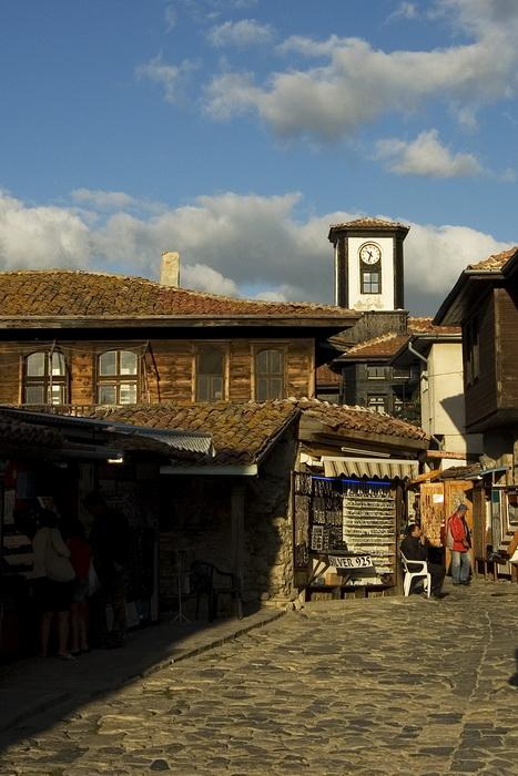 переулок старого Несебра