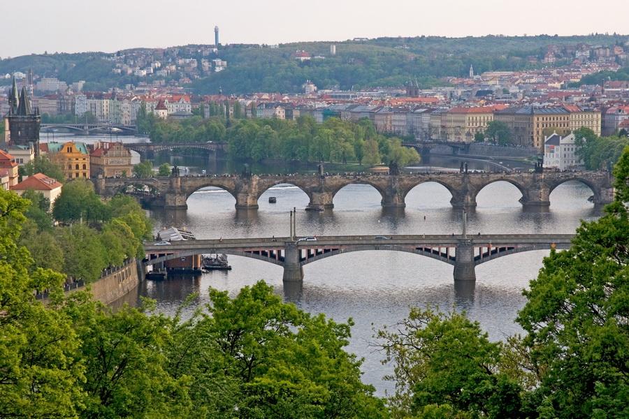 Летенские сады в Праге