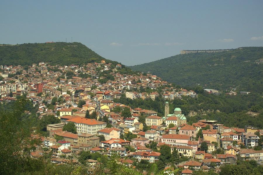 Вид на Велико Тырново