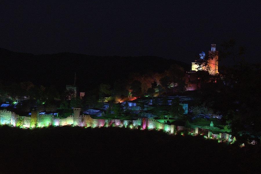 Лазерное шоу звук-свет в Велико Тырново