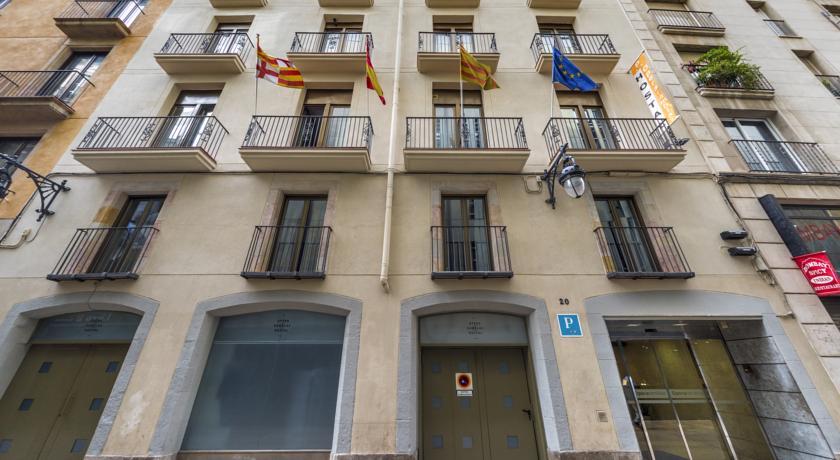 бюджетный отель в Барселоне