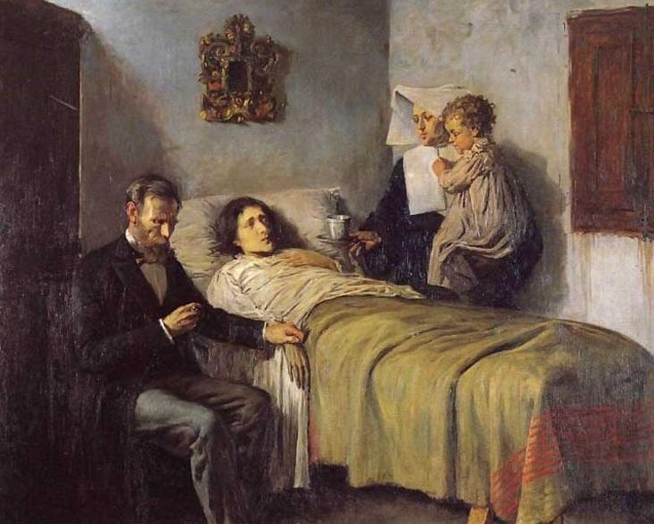 "картина ""Знание и милосердие"" - 1897 год"