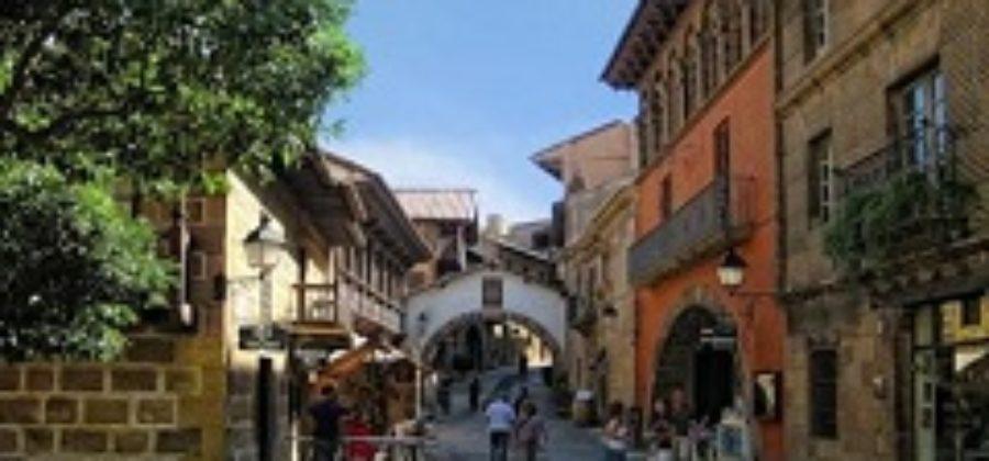 Испанская деревня – музей под открытым небом в Барселоне