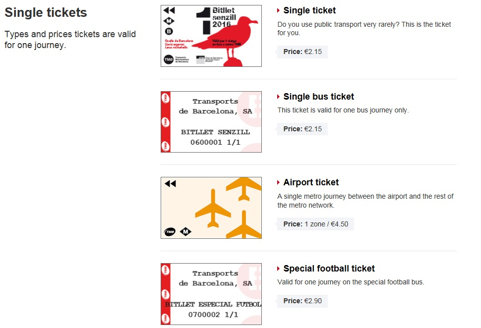 single-tickets-transport-barcelona