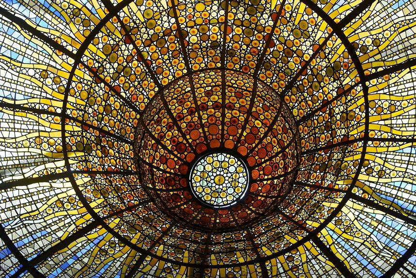 центральный купол в дворце