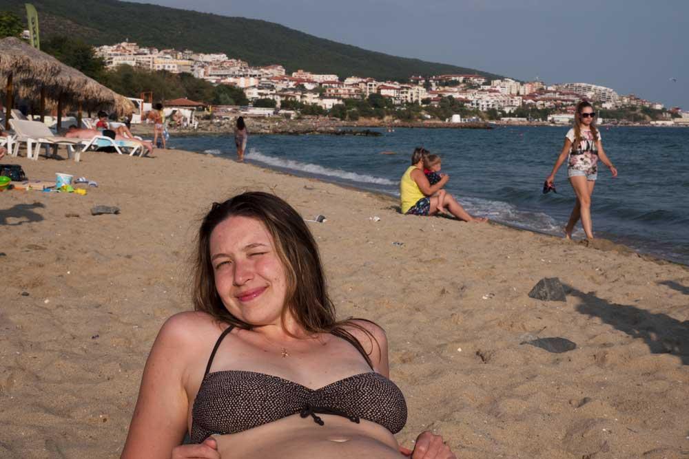 central beach Sveti Vlas