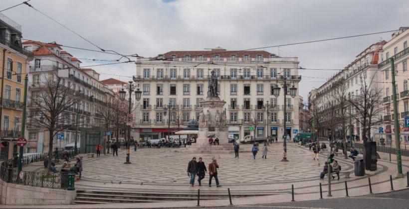 Шиаду — респектабельный район Лиссабона