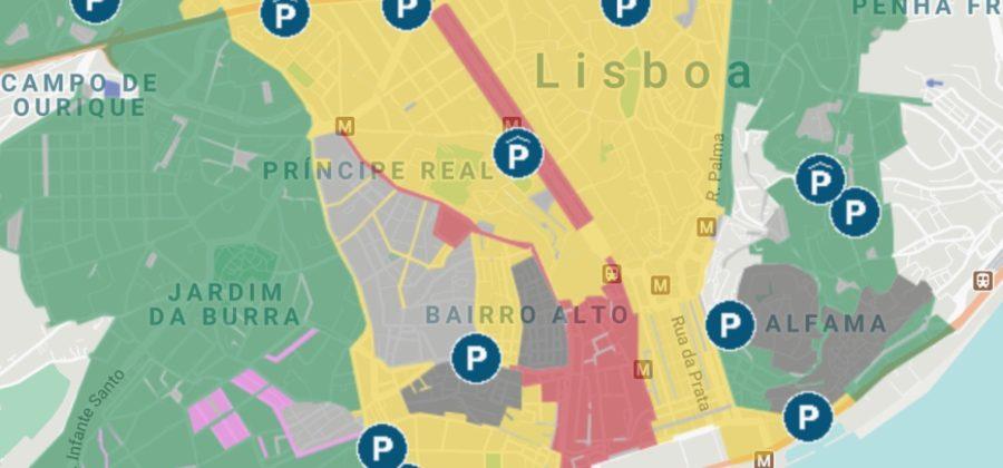 Парковки в Лиссабоне — где оставить машину бесплатно